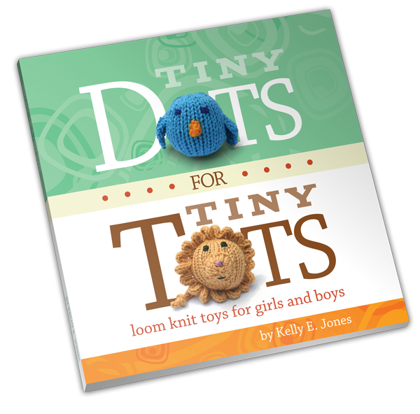 Tiny Dots for Tiny Tots - Loom Knitting Book